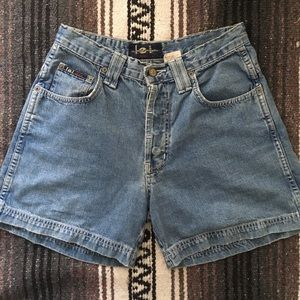vintage l.e.i. high waisted denim shorts